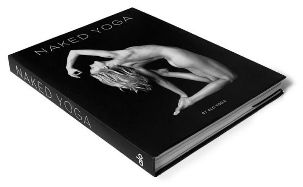ALO Naked Yoga Book Cover Options, Title Treatment, caley Alyssa nude