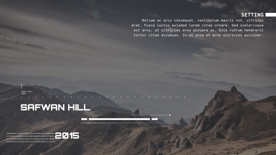 Afghanistan mountain landscape with white text for setting page