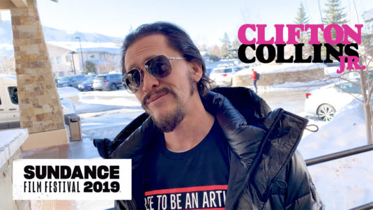 Clifton Collins Jr. Sundance Video