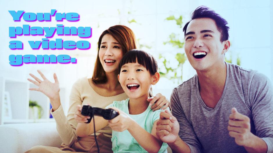 Interactive TV Game Show Family Fun