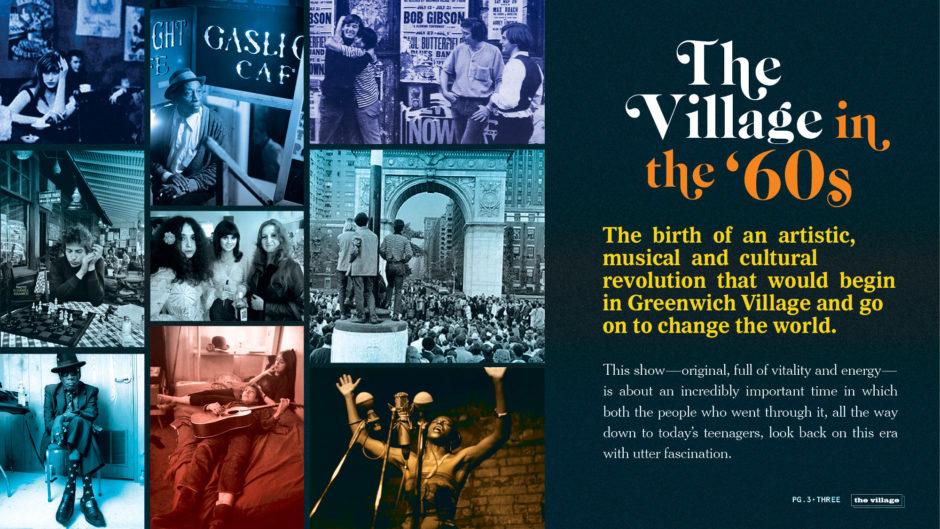 """""""The Village"""" Pitch Deck 1960s, revolution"""