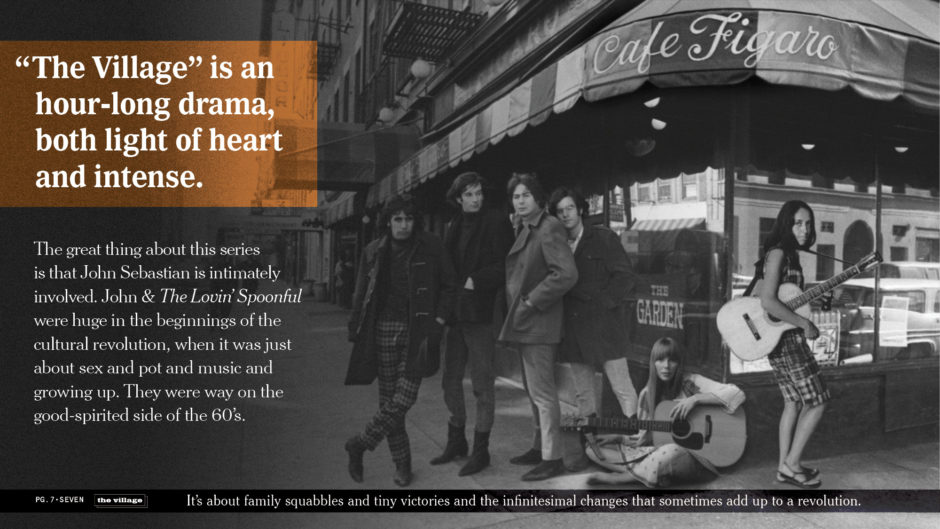Greenwich Village Musical Acts, The Loving Spoonful, Joan Baez, Joni Mitchell