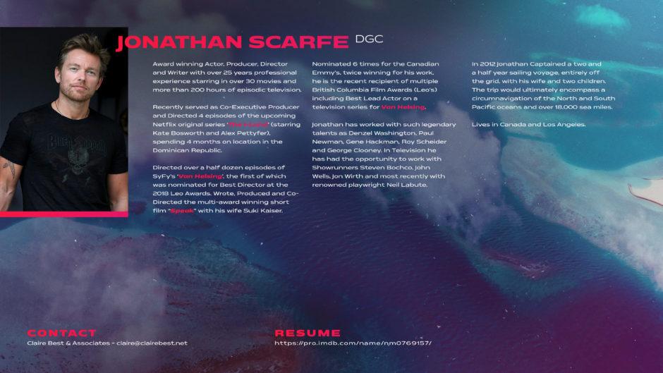 Jonathan Scarfe Contact Page