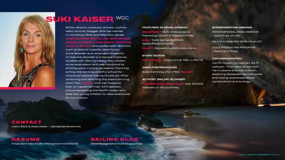 Suki Kaiser Contact Page