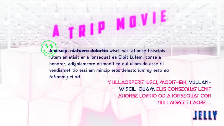 jelly sci-fi film logline trip movie smiley