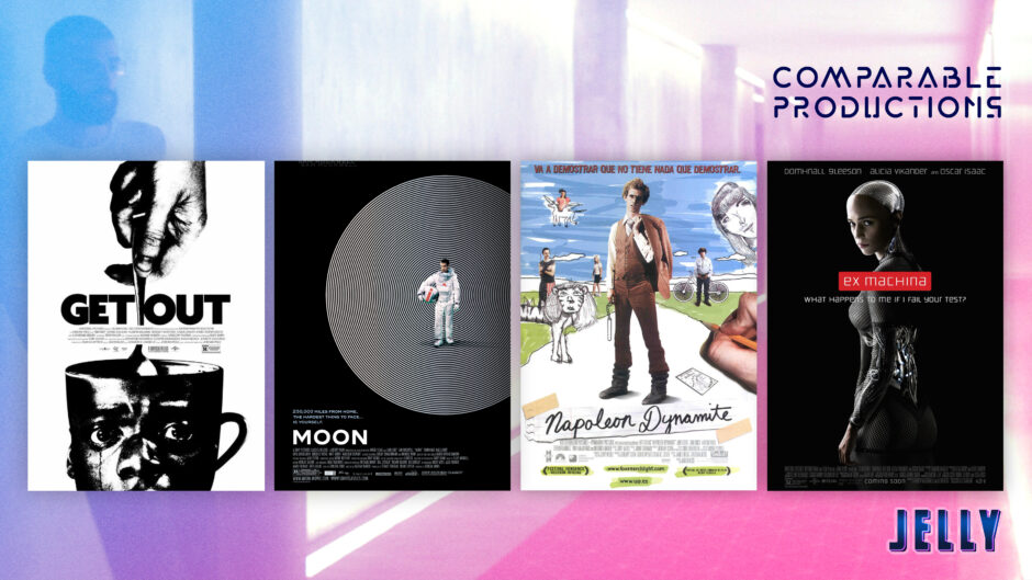 jelly comparable films get out moon movies ex machina sci-fi