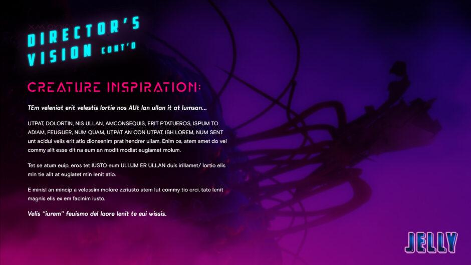 film directors vision jelly creature silhouette