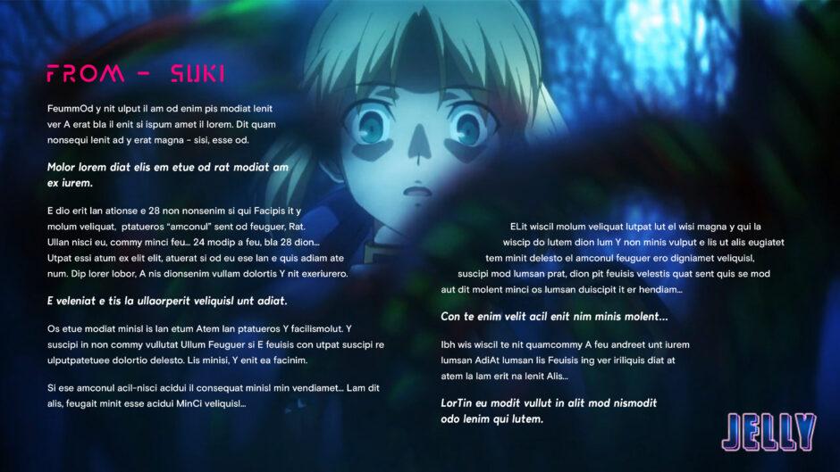 anime blonde girl scared at night big eyes